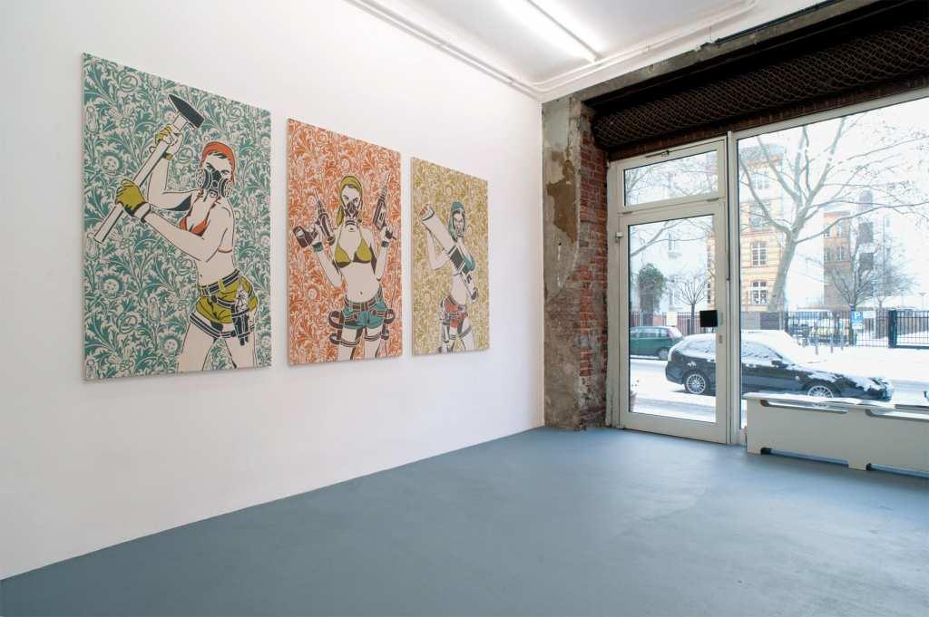 Dana Widawski · Arts & Morris · solo exhibition at Gallery Giller Lörcher · Berlin 2012