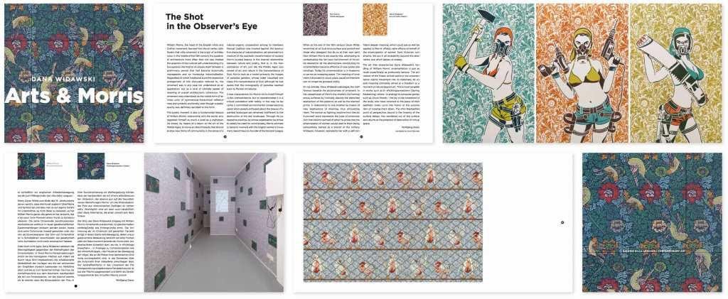 Dana Widawski · catalog «Arts & Morris» · 2012