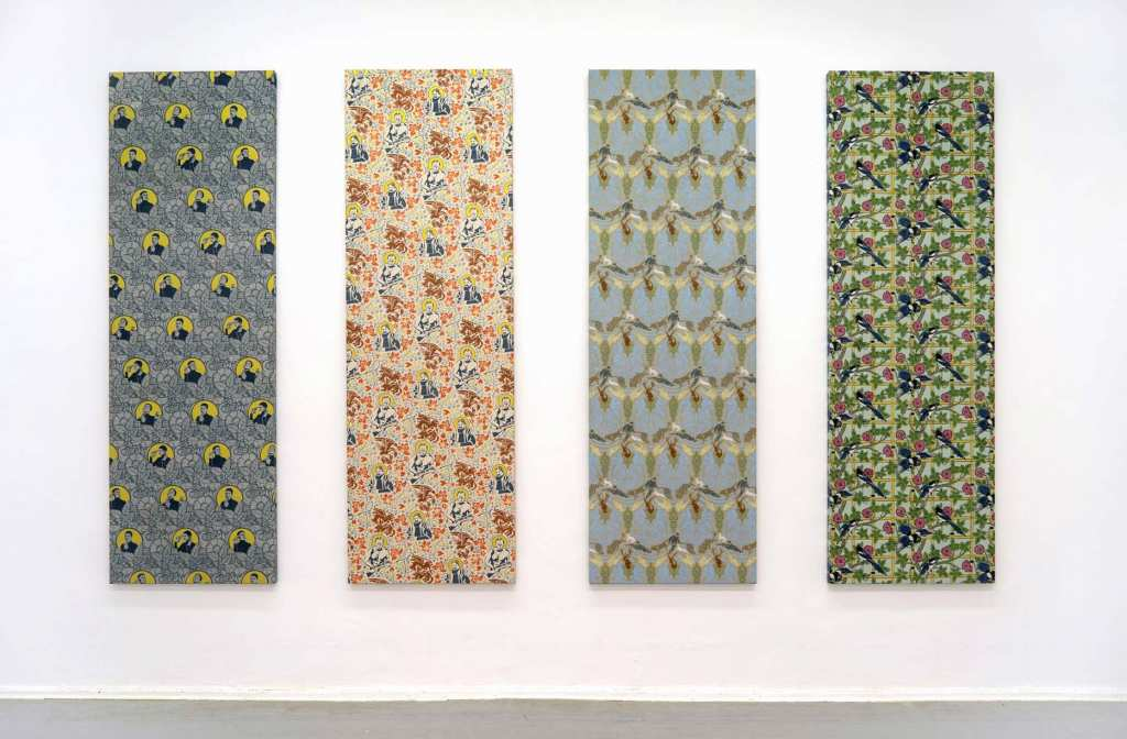 Dana Widawski · Ornamentale Tapetenbilder · 2008/2013