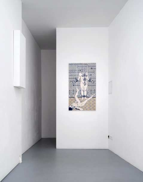 Dana Widawski · BlueBreak · exhibition Gallery Gilla Lörcher Berlin · 2014