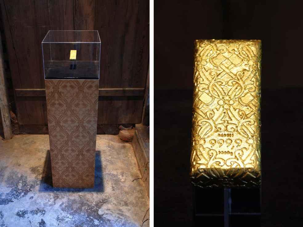 Dana Widawski · Aurum Roses · installation · Schwabach · 2011
