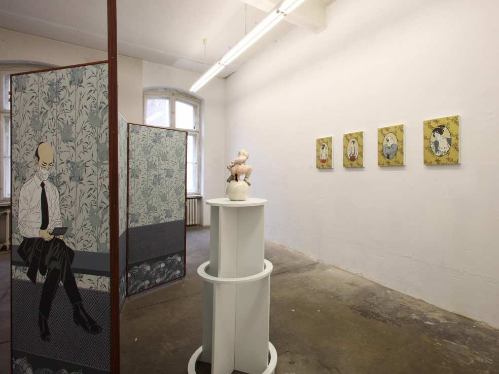 Dana Widawski · TO–BE Tokyo+Berlin Communication Art · 2010 · Berlin